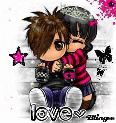 imagenes emo besandose emo love fotograf 237 a 106305527 blingee com