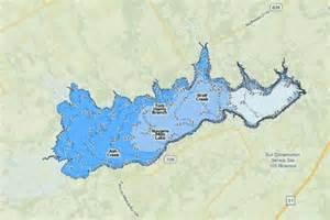 navarro map navarro mills lake fishing map us tx navarromills