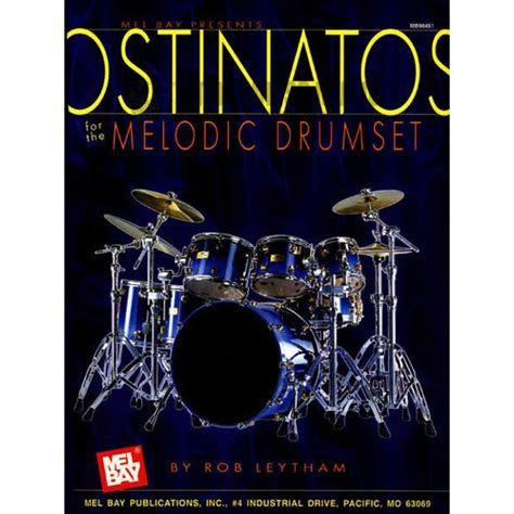 melodic stick books leytham ostinatos for the melodic drumset drum set