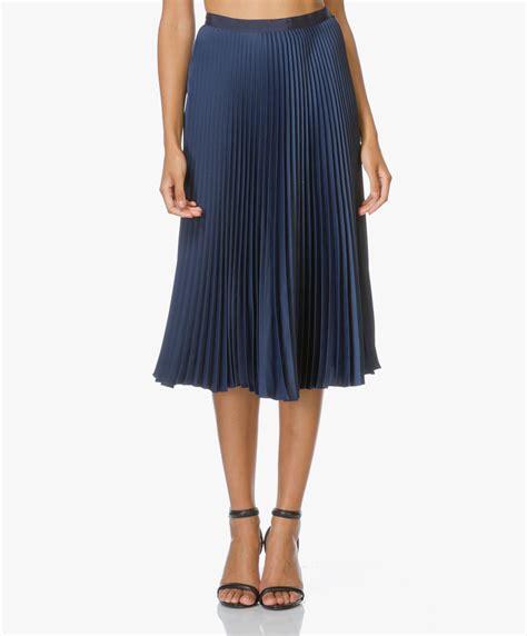 Blouse Fadia Midi plisse pliss feel the yarn jupe plisse skirt le mont