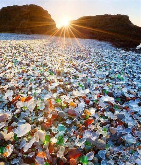 sea glass beach glass beach fort bragg california travel usa i ve