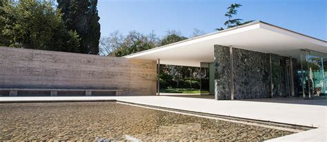 Pavillon Mies Der Rohe by Photos Of The Barcelona Pavilion By Mies Rohe