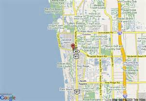 naples florida map map of inn at pelican bay naples