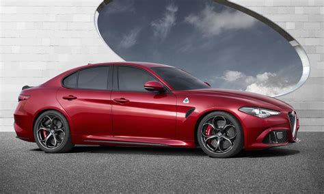 Alfa Romeo Giulia by Alfa Romeo Giulia Revealed 375kw Qv Rwd And Awd