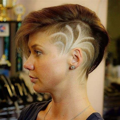 haircuts on women at barbershops theburghbarber undercut pixie barbershop cuts for women