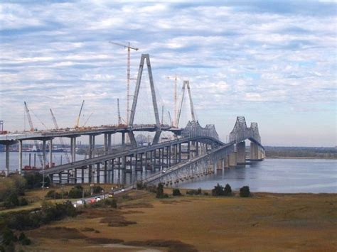 Recent Mba Graduate Chalreston Sc by This Was When The New Bridge Was Being Built And The