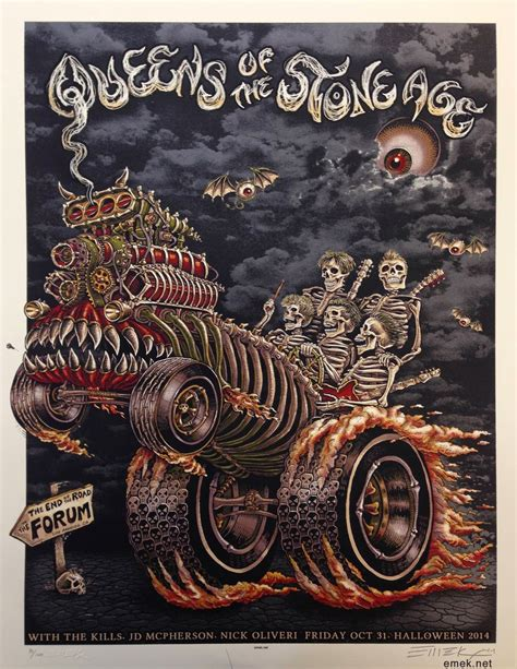 scow of stone inside the rock poster frame blog emek queens of the