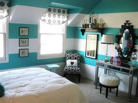 bedroom stripped paint ideas for teenage girls bedroom