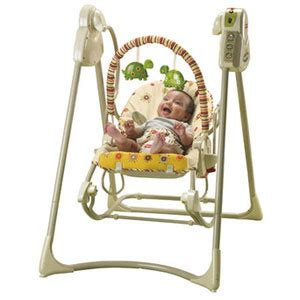 fisher price rock and swing buy fisher price swing n rocker at home bargains