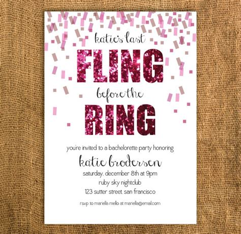 bachelorette invitation templates diy printable bachelorette invitation