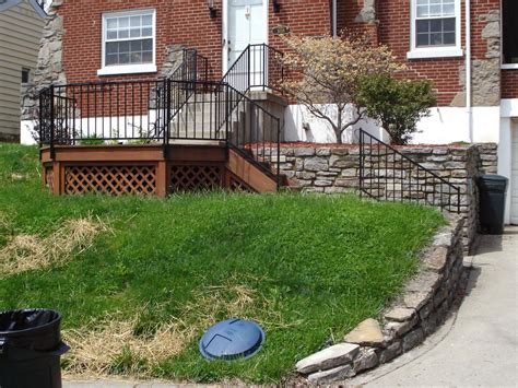 landscaping a hilly backyard landscape makeover for a hilly front yard diy