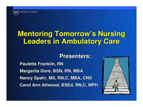 Rn Mph Mba american academy of ambulatory care nursing