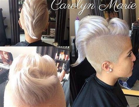 platinum blonde mohawk 70 most gorgeous mohawk hairstyles of nowadays mohawks