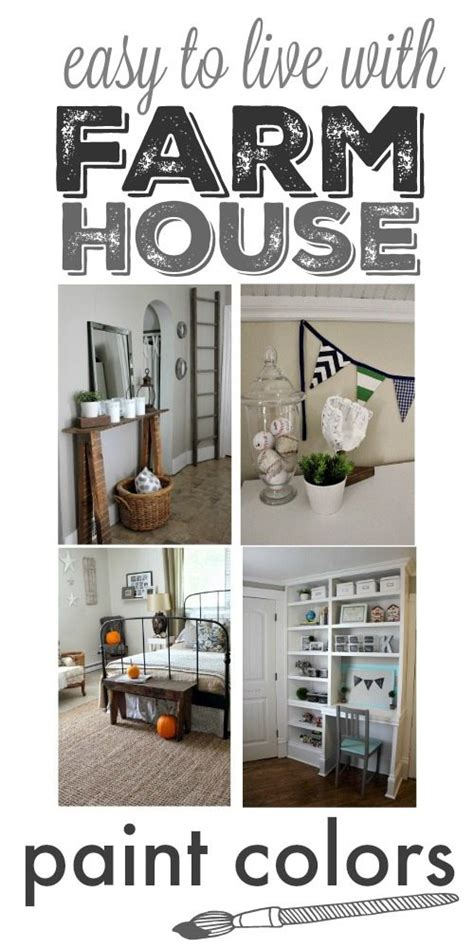 our home s farmhouse paint colors the creek line house