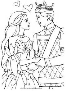 barbie coloring pages ken and barbie black and white