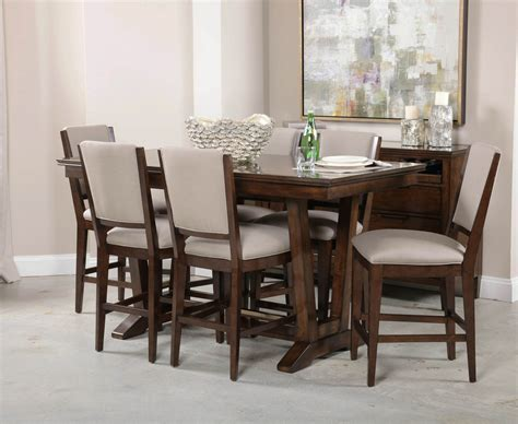 kincaid furniture wildfire eight piece formal dining room kincaid dining room furniture kincaid cutler live edge