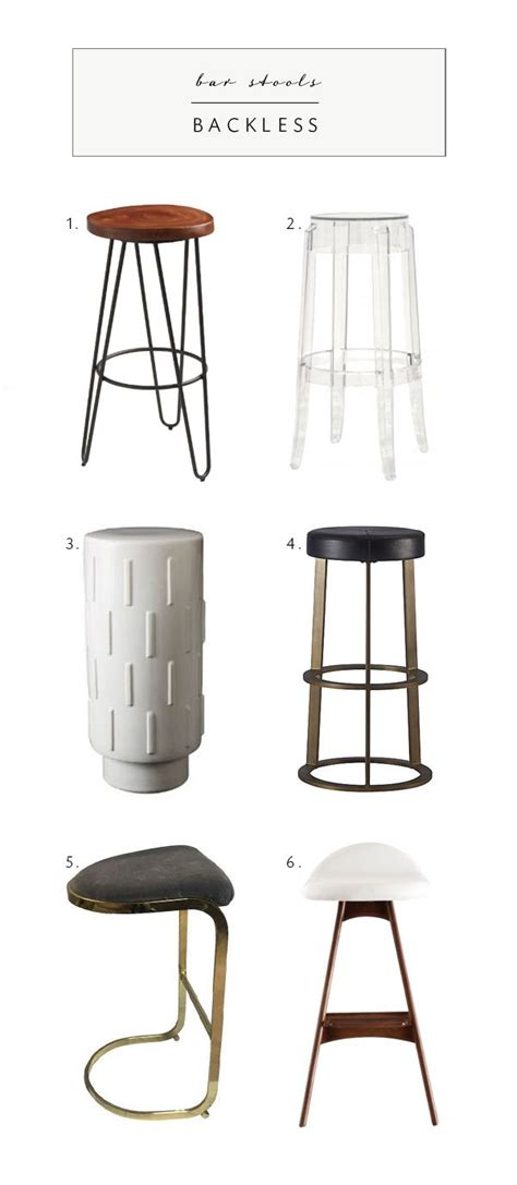 kitchen bar stools backless 10 best ideas about backless bar stools on pinterest