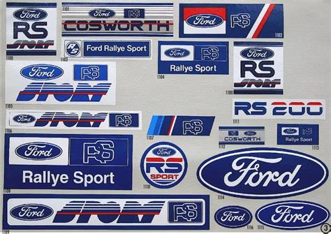 Ford Sticker by Decals Ford Autos Post