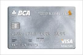 bca krisflyer co brand cards