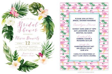 tropical island themed wedding invitations tropical wedding shower invitations arts arts