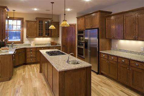 25 best ideas about oak cabinets on