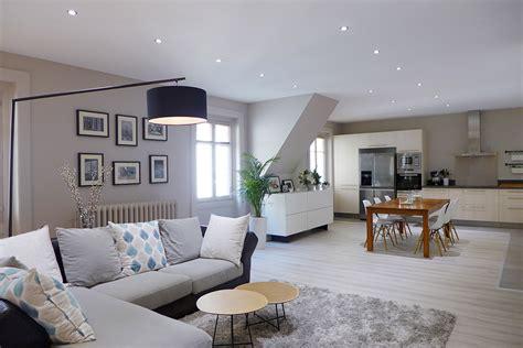 Decoration Interieur Salon Sejour by Decoration Interieur Salon Cuisine Ouverte