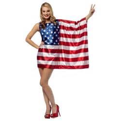 usa flag dress womens costume world cup soccer fan