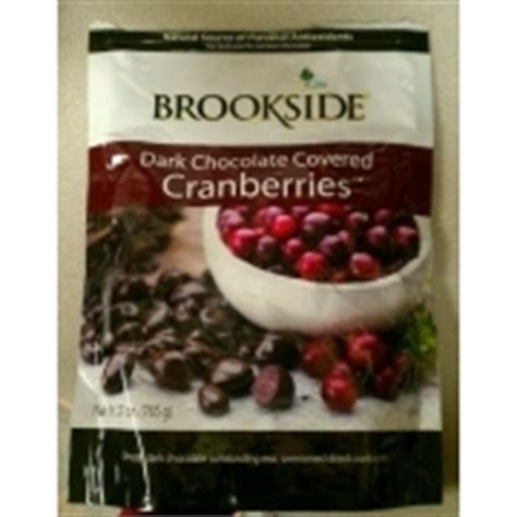 Brookside Cranberriess by Brookside Chocolate Covered Cranberries Calories