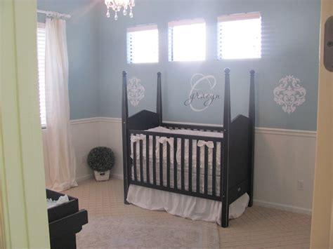 chair rail nursery nursery