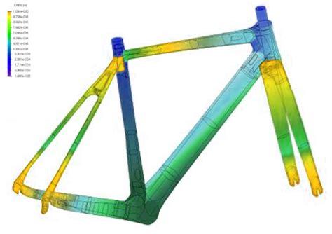 bike frame design loads bike frame fea analysis singapore frame structural