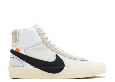 Sepatu Nike Sb Blazer Black sepatu lawas inspirasi virgil abloh di nike sb blazer
