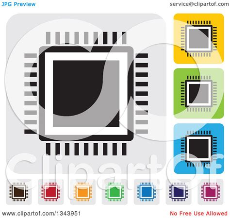 layout app not square clipart of rounded corner square cpu app icon design
