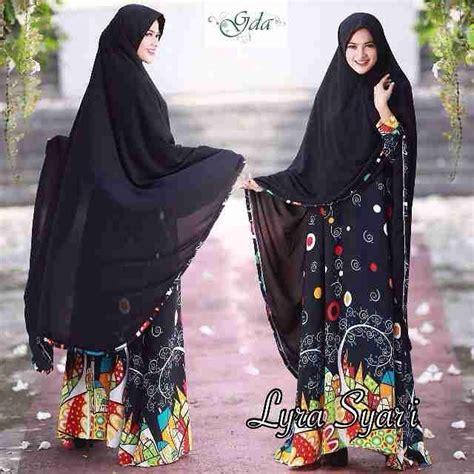 Gamis Dress Syari Branded baju gamis syar i terbaru lyra by gda