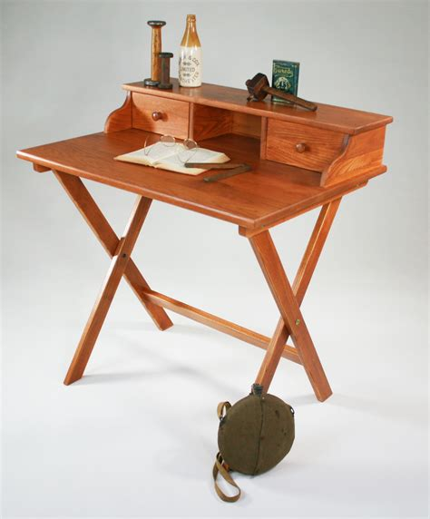 Small Desk Plans Caign Desk Might Work In A Small Space Via Manchester Wood Made In Usa 349 95 For The