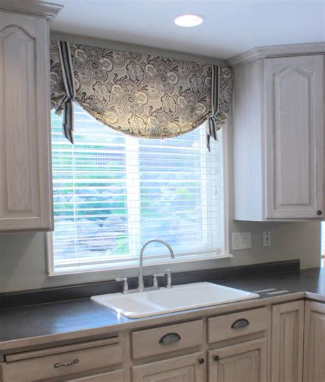 Kitchen Without Cornice by Black Kitchen Curtains And Valances Window Treatments