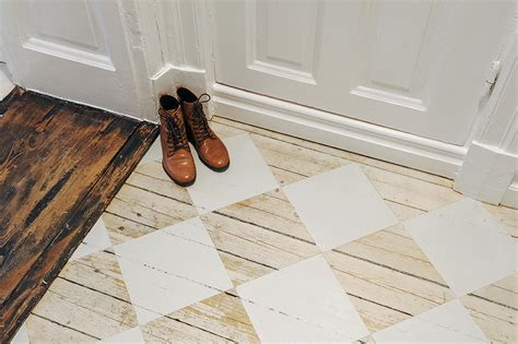 holzboden lackieren painted floor boards nordic bliss