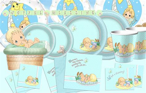 Precious Moments Baby Shower by Precious Moments Baby Boy Supplies Ideas
