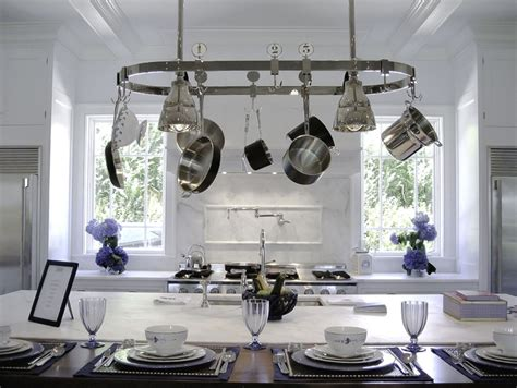 kitchen island pot rack lighting 51 best images about vintage kitchens on stove