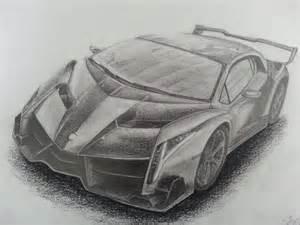 How To Draw A Lamborghini Veneno Sketch Of A Lamborghini Veneno Drawing