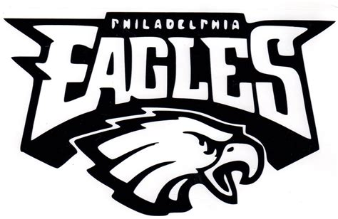 5 best images of free printable nfl logos eagles