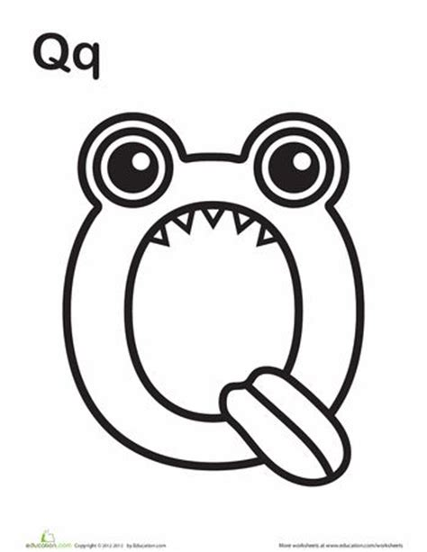 monster alphabet coloring pages 1000 images about abc color sheets on pinterest