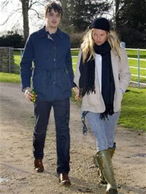 Pete Docherty Goes Free For Fashion by Pete Doherty Shacks Up With Kate Moss Celebsnow