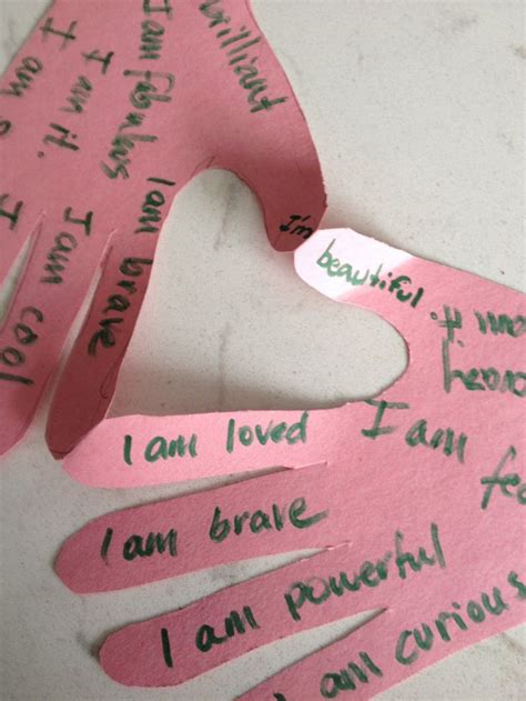 self esteem crafts for 25 best yw confidence images on confidence