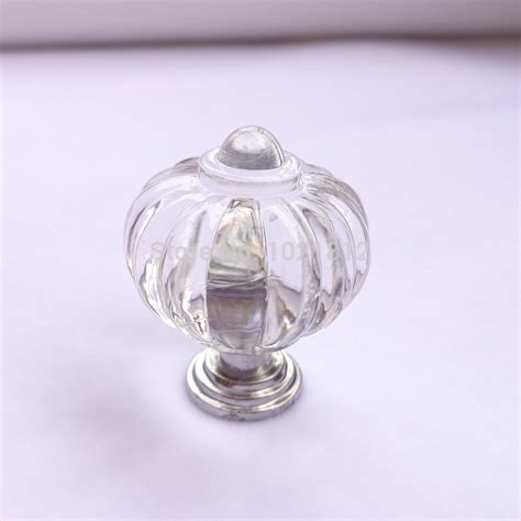 Clear Plastic Drawer Knobs by 10pcs Plastic Cabinet Handle Knob Pumpkin Style Drawer
