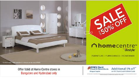 get upto 50 at home center lifestyle stores in