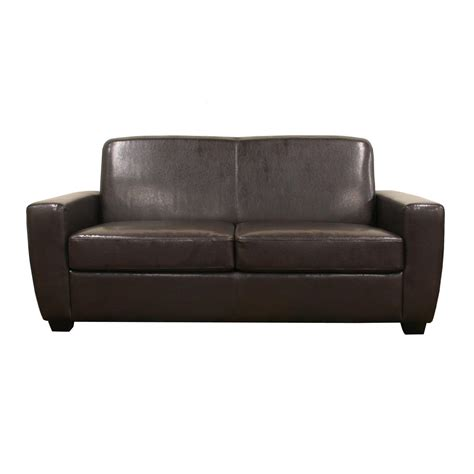 overstock settee leather sofa overstock tosh furniture beige leather