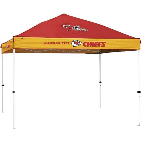 Kc Tent And Awning by Canopies Pole Kansas City Chiefs Tailgating Canopy