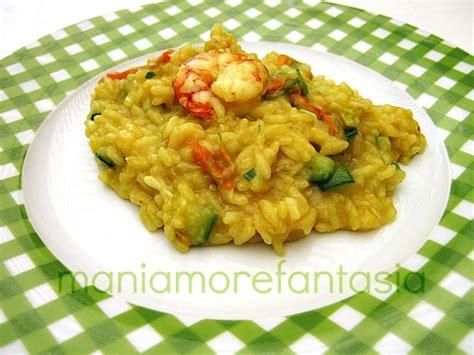 risotto fiori di zucca e gamberi risotto ai gamberi e zucchine ricette fiori di zucca