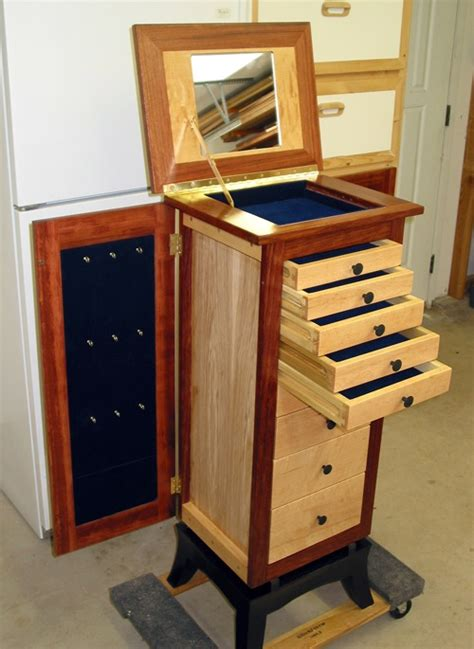 Jewelry Armoire Woodworking Plans by Image Gallery Jewelry Armoire Plans
