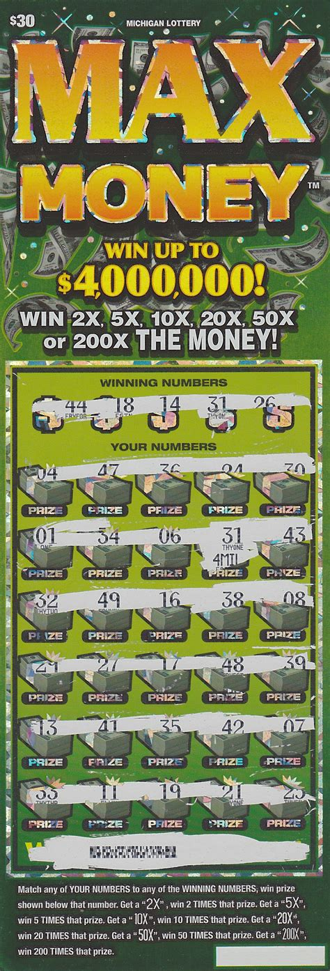How To Give Money To Family After Winning The Lottery - otsego county man wins 4 million playing michigan lottery s max money instant game